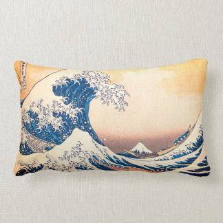 The Great Wave Lumbar Pillow