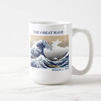"""""""The Great Wave"""" Basic White Mug"""