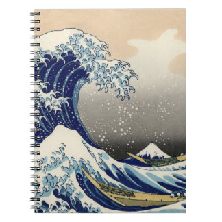 the great wave notebook