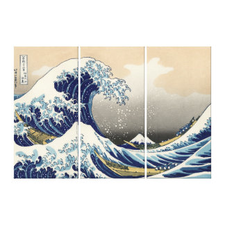 The Great Wave of Kanagawa Canvas Art