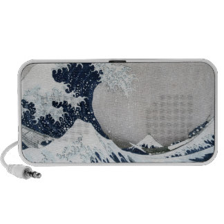 The Great Wave of Kanagawa PC Speakers