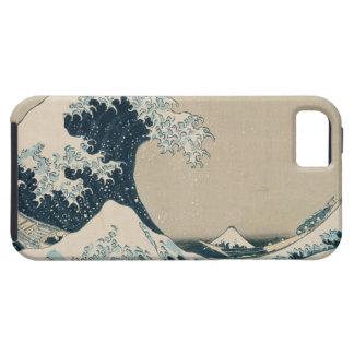 The Great Wave of Kanagawa, Views of Mt. Fuji iPhone 5 Covers