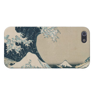 The Great Wave of Kanagawa, Views of Mt. Fuji iPhone 5/5S Cases