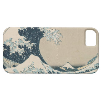 The Great Wave of Kanagawa, Views of Mt. Fuji iPhone 5 Case