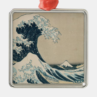 The Great Wave of Kanagawa, Views of Mt. Fuji Metal Ornament