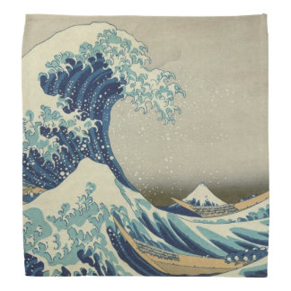 The Great Wave off Kanagawa (神奈川沖浪裏) Bandana