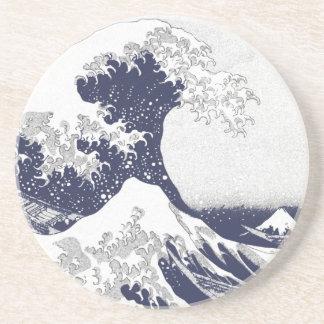 The Great Wave off Kanagawa (神奈川沖浪裏) Coaster
