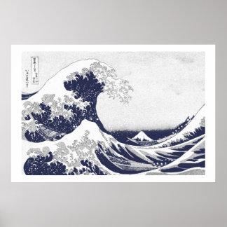 The Great Wave off Kanagawa (神奈川沖浪裏) Print