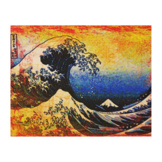 The Great Wave off Kanagawa (神奈川沖浪裏) Wood Prints