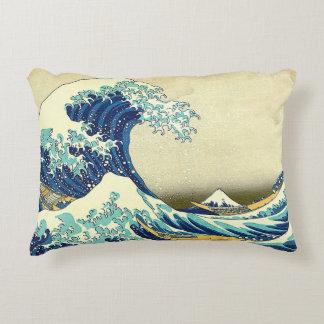 """""""The Great Wave Off Kanagawa"""" Accent Cushion"""