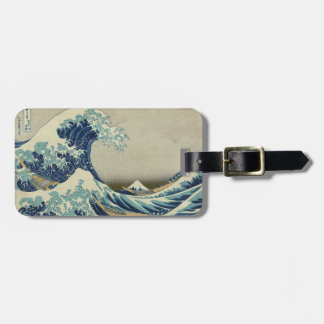 The Great Wave off Kanagawa Bag Tag