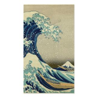 The Great Wave off Kanagawa Business Card