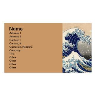 The Great Wave off Kanagawa Business Card Templates