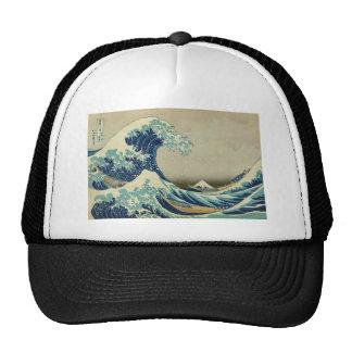 The Great Wave off Kanagawa by Katsushika Hokusai Trucker Hat