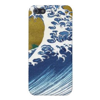 The great wave off Kanagawa by Katsushika Hokusai iPhone 5 Case