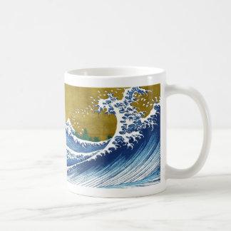 The great wave off Kanagawa by Katsushika Hokusai Coffee Mugs