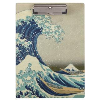 The Great Wave off Kanagawa Clipboard