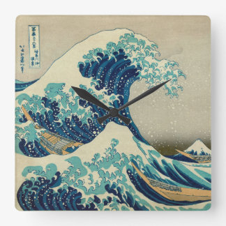 The Great Wave off Kanagawa Clock