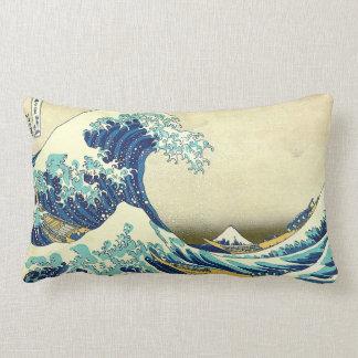 """""""The Great Wave Off Kanagawa"""" Cushion"""