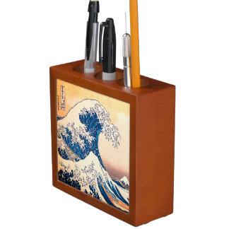 The Great Wave Off Kanagawa Desk Organiser