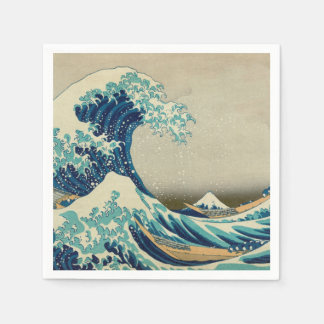 The Great Wave off Kanagawa Disposable Serviette