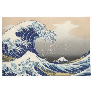 The Great Wave Off Kanagawa Doormat