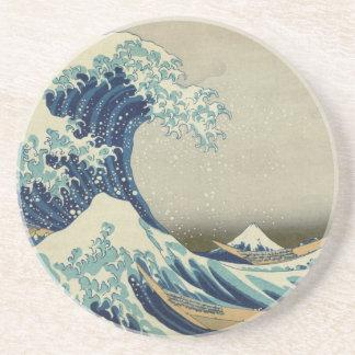 The Great Wave off Kanagawa Drink Coaster