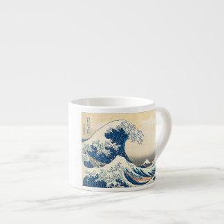 """The Great Wave Off Kanagawa"" Espresso Mug"