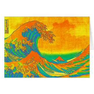 """The Great Wave Off Kanagawa"" Greeting Card"