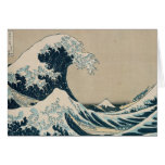 The Great Wave off Kanagawa Greeting Cards