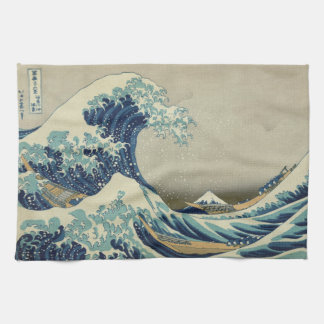 The Great Wave off Kanagawa Hand Towel