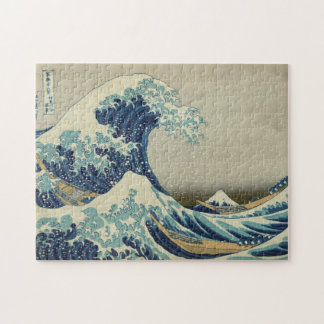 The Great Wave off Kanagawa Jigsaw Puzzle
