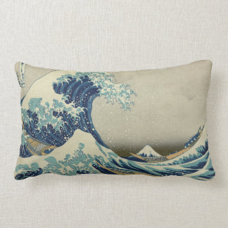 The Great Wave off Kanagawa Lumbar Pillow