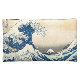 """""""The Great Wave Off Kanagawa"""" Makeup Bags"""