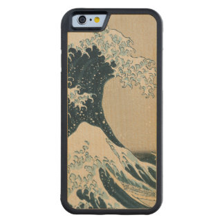The Great Wave off Kanagawa Maple iPhone 6 Bumper Case