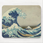 The Great Wave off Kanagawa Mouse Pads