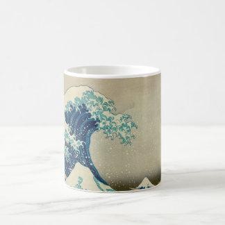 The Great Wave off Kanagawa Coffee Mugs