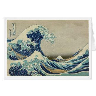 The Great Wave off Kanagawa Note Card