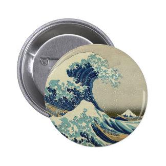 The Great Wave off Kanagawa Pins