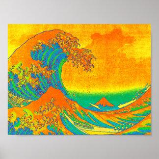 """The Great Wave Off Kanagawa"" Poster"