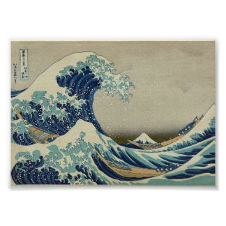 The Great Wave off Kanagawa Posters