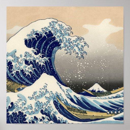 The Great Wave off Kanagawa Print
