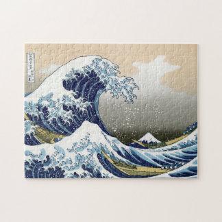 The Great Wave Off Kanagawa Puzzles