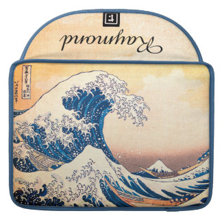 The Great Wave Off Kanagawa Sleeve For MacBooks
