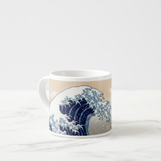 The Great Wave Off Kanagawa Espresso Cups