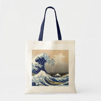 The Great Wave Off Kanagawa Tote Budget Tote Bag