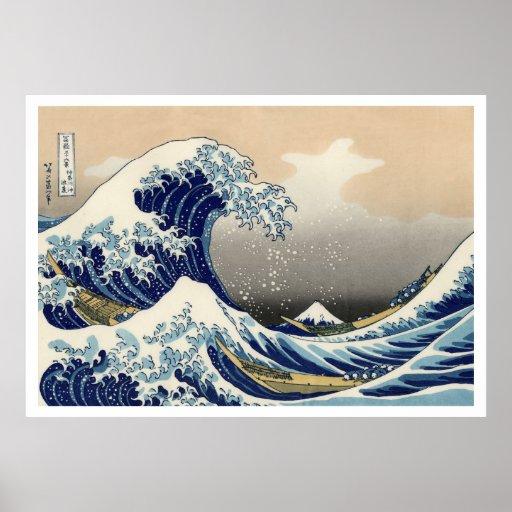 The Great Wave off Kanagawa Ukiyo–e Posters