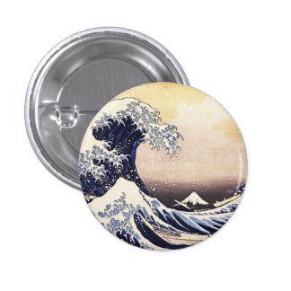 The Great Wave Off Kanagawa Vintage Japanese Art Pins