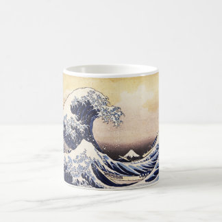 The Great Wave Off Kanagawa Vintage Japanese Art Mugs