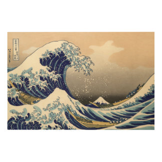 The Great Wave off Kanagawa Wood Prints